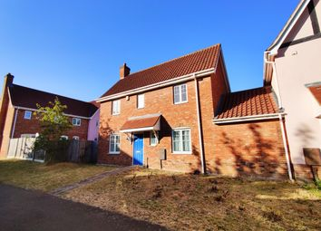 Thumbnail 3 bed detached house to rent in Barnham Close, Chapel Break, Norwich