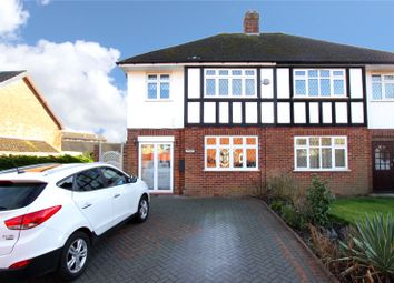 Thumbnail 4 bed semi-detached house for sale in Hunters Lane, Leavesden, Watford