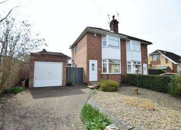 Thumbnail 2 bed semi-detached house for sale in Clive Avenue, Lincoln