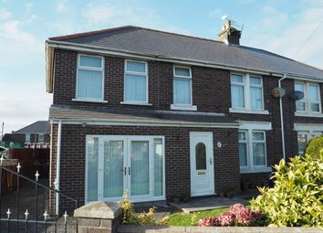 Thumbnail 4 bed semi-detached house for sale in St. Fagans Avenue, Barry