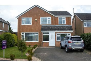 Thumbnail 4 bed detached house for sale in Poplar Crescent, Bourne