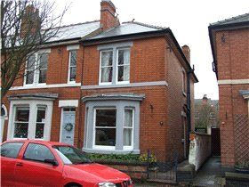 Thumbnail 3 bedroom end terrace house to rent in Wheeldon Avenue, Derby