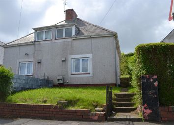 Thumbnail 2 bedroom semi-detached house for sale in Gwynedd Avenue, Townhill, Swansea