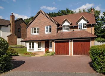 Thumbnail 5 bed detached house to rent in Rushmere Place, Englefield Green, Surrey