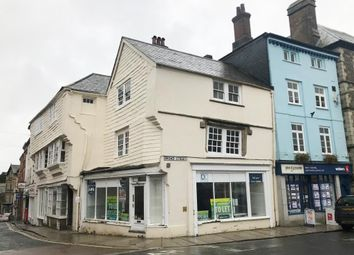 Thumbnail Commercial property for sale in 11-13 High Street, Launceston, Cornwall