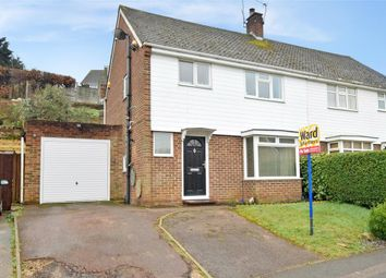 Thumbnail 3 bed semi-detached house for sale in Oak Drive, Trees Development, Larkfield, Kent