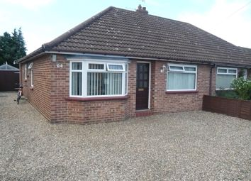 Thumbnail 3 bed semi-detached bungalow for sale in Stonehouse Road, Sprowston, Norwich