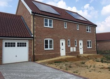 Thumbnail 3 bed semi-detached house for sale in Plot 13, Roxbury Drive, East Harling