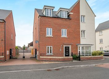 Thumbnail 4 bed town house for sale in Wayside Crescent, Hampton Vale, Peterborough