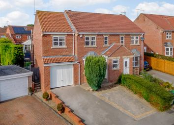 Thumbnail 3 bed semi-detached house for sale in Willow Avenue, Clifford, Wetherby