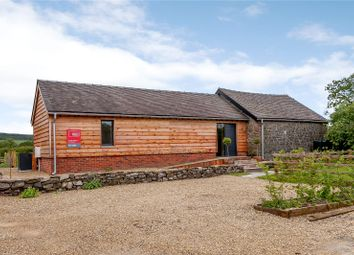 Thumbnail 2 bedroom bungalow for sale in Crowsmoor Farm, Aston-On-Clun, Craven Arms, Shropshire