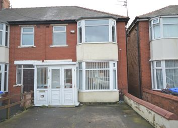 Thumbnail 3 bed end terrace house for sale in Stoke Avenue, Blackpool