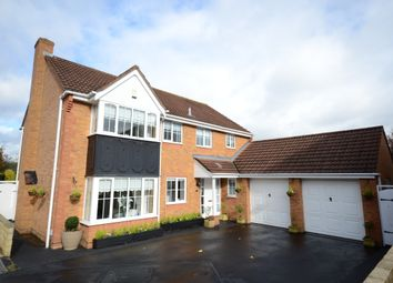 Thumbnail 5 bedroom detached house for sale in Barrington Way, Reading