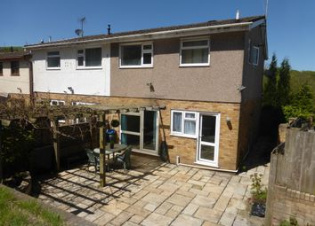 Thumbnail 3 bed semi-detached house for sale in Eglwysilan Way, Abertridwr, Caerphilly