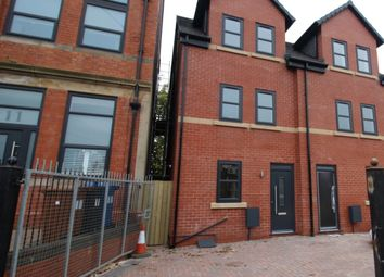 Thumbnail 4 bed semi-detached house for sale in Rowsley Grove, Reddish, Stockport, Cheshire