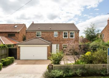 Thumbnail 4 bed detached house for sale in Back Lane, Newton On Ouse, York, North Yorkshire