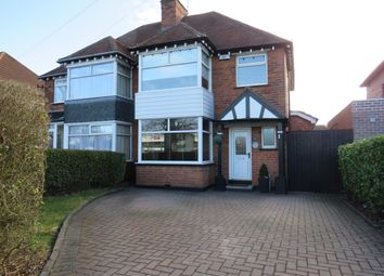 Thumbnail 3 bed semi-detached house to rent in Marshall Lake Road, Shirley, Solihull