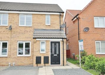 Thumbnail 2 bed semi-detached house to rent in Germain Close, Selby