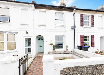 Thumbnail 3 bed terraced house for sale in Cranmer Road, Worthing