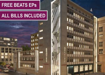 Thumbnail Studio to rent in Gravity Residence, 19 Water Street, Liverpool