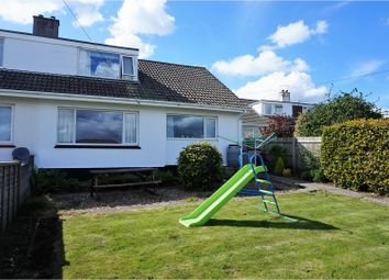 Thumbnail 3 bed semi-detached house for sale in Gribben Close, St. Austell