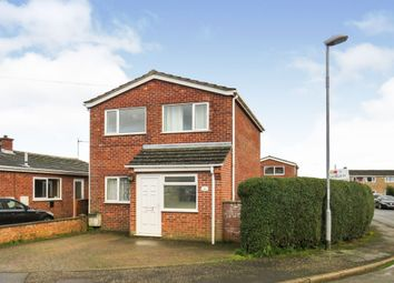 Thumbnail 3 bedroom detached house for sale in Hawthorn Close, Wymondham