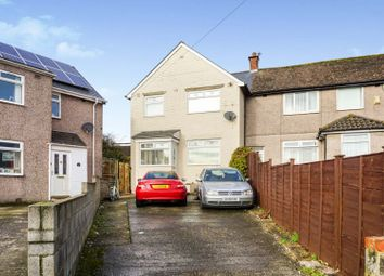 Thumbnail 3 bed terraced house for sale in Cadoc Crescent, Barry