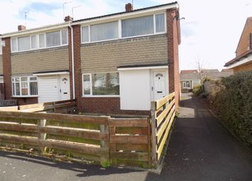 Thumbnail 3 bed end terrace house to rent in Broomlee, Ashington