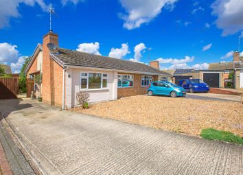 Thumbnail 2 bed semi-detached bungalow for sale in St Leonards Close, Kettering