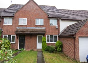 Thumbnail 2 bedroom terraced house for sale in Briton Way, Wymondham