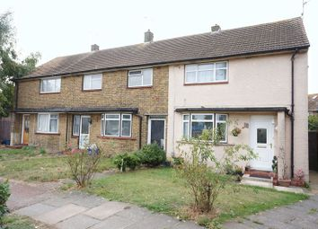 Thumbnail 2 bedroom terraced house for sale in Eldbert Close, Southend-On-Sea