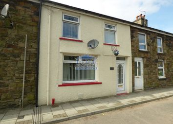 Thumbnail 2 bed terraced house for sale in Tynewydd Row, Ogmore Vale, Bridgend.