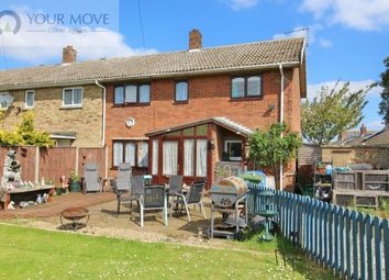 Thumbnail 3 bedroom semi-detached house for sale in Manor Close, Worlingham, Beccles
