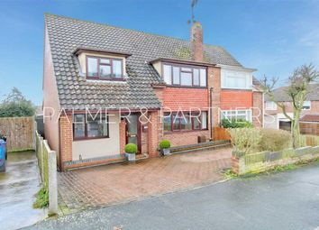 Thumbnail 4 bed semi-detached house for sale in Enid Way, Colchester