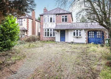 Thumbnail 3 bed detached house for sale in Leicester Road, Glen Parva, Leicester