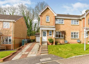 Thumbnail 3 bed semi-detached house for sale in Perrays Crescent, Dumbarton