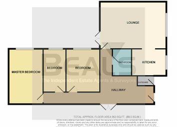 3 bed terraced bungalow for sale in Cedar Way, Fareham PO14
