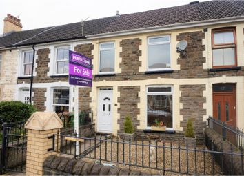 Thumbnail 2 bed terraced house for sale in Wingfield Crescent, Caerphilly