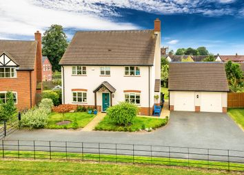 Thumbnail 4 bed detached house for sale in Manor Green, Childs Ercall, Market Drayton
