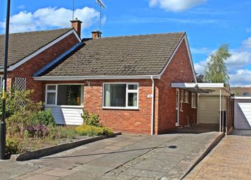 Thumbnail 2 bed semi-detached bungalow for sale in Girdlers Close, Styvechale Grange, Coventry, West Midlands