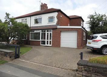 Thumbnail 3 bed semi-detached house for sale in Upper Hibbert Lane, Marple, Stockport