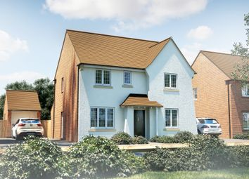 "Thumbnail 4 bed detached house for sale in ""The Berrington"" at North End Road, Yatton, Bristol"