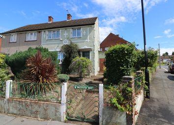 Thumbnail 3 bed semi-detached house for sale in Merrow Way, New Addington, Croydon
