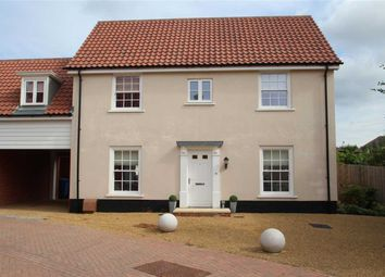 Thumbnail 4 bed link-detached house for sale in Griffiths Close, East Ipswich, Ipswich