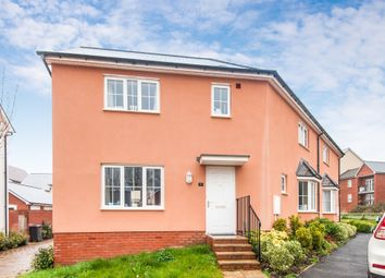 Thumbnail 3 bedroom semi-detached house for sale in Whitaker Close, Pinhoe, Exeter