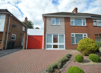 Thumbnail 3 bed semi-detached house for sale in Ridgeway Avenue, Stivichall, Coventry