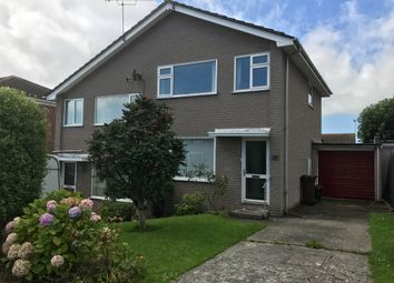 Thumbnail 3 bed semi-detached house to rent in Beech Close, Torpoint