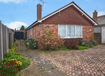Thumbnail 2 bed detached bungalow for sale in Woodland Way, Dymchurch, Romney Marsh, Kent