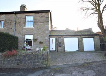 Thumbnail 2 bed semi-detached house for sale in Bank Terrace, Flatts Lane, Kettleshulme, High Peak