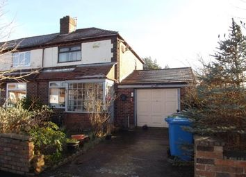 Thumbnail 2 bed semi-detached house for sale in Moseley Avenue, Warrington, Cheshire